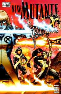 Cover Thumbnail for New Mutants (Marvel, 2009 series) #1 [Cover A - Adam Kubert]