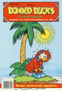 Cover Thumbnail for Donald Ducks Show (Hjemmet / Egmont, 1957 series) #[97] - Ferie show 1998