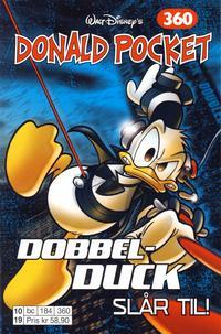 Cover Thumbnail for Donald Pocket (Hjemmet / Egmont, 1968 series) #360 - Dobbel-Duck slår til! [1. opplag]