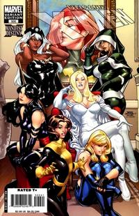 Cover Thumbnail for The Uncanny X-Men (Marvel, 1981 series) #500 [Terry Dodson Variant Cover]