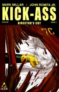 Cover Thumbnail for Kick-Ass (Marvel, 2008 series) #1 (Director's Cut)