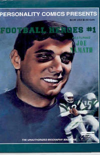 Cover Thumbnail for Football Heroes (Personality Comics, 1992 series) #1