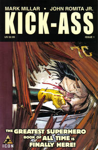 Cover Thumbnail for Kick-Ass (Marvel, 2008 series) #1