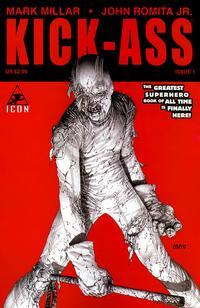 Cover Thumbnail for Kick-Ass (Marvel, 2008 series) #1 [McNiven Variant]