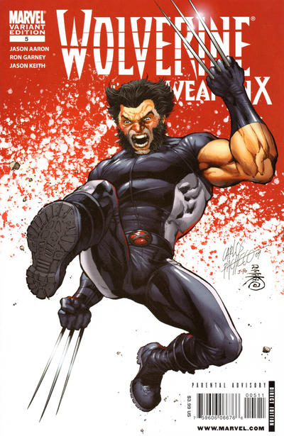 Cover for Wolverine Weapon X (Marvel, 2009 series) #5 [Garney Cover]