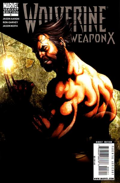 Cover for Wolverine Weapon X (Marvel, 2009 series) #3 [Garney Cover]