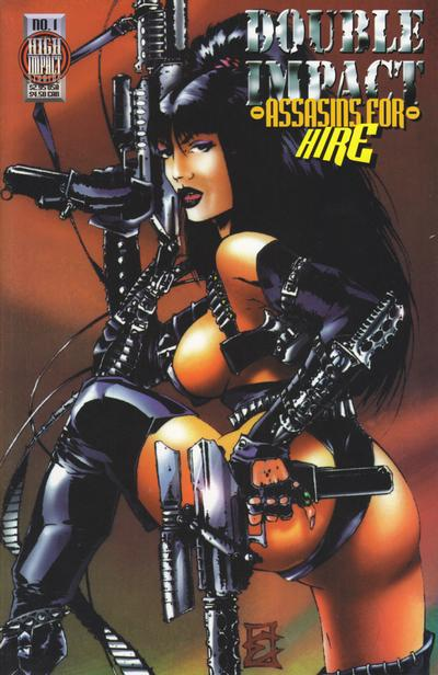 Cover for Double Impact: Assassins for Hire (High Impact Entertainment, 1997 series) #1
