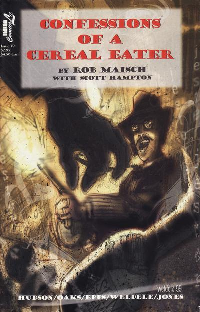 Cover for Confessions of a Cereal Eater (NBM, 2000 series) #2
