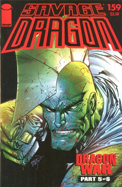 Cover for Savage Dragon (Image, 1993 series) #159