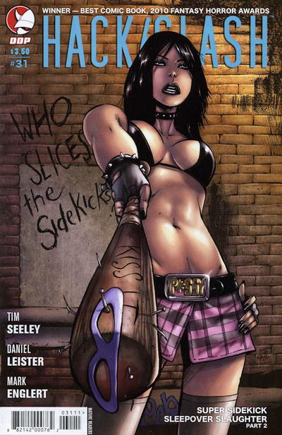 Cover for Hack/Slash: The Series (Devil's Due Publishing, 2007 series) #31 [Cover B]