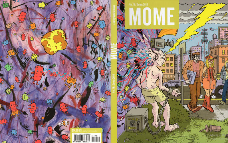 Cover for Mome (Fantagraphics, 2005 series) #18