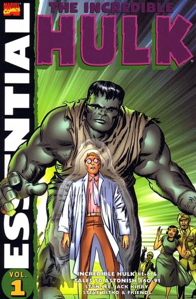Cover for Essential Hulk (Marvel, 1999 series) #1 [Third Printing]