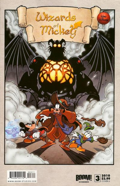 Cover for Wizards of Mickey (Boom! Studios, 2010 series) #3 [Cover A]