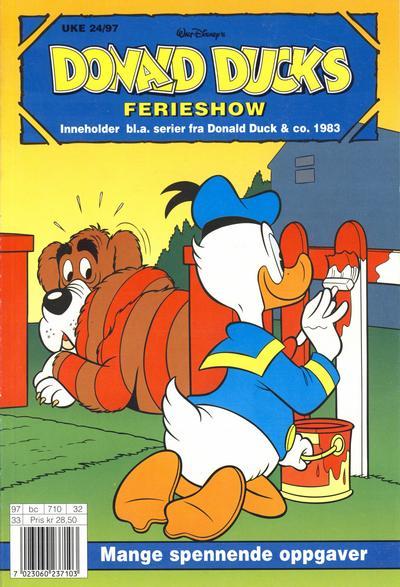 Cover for Donald Ducks Show (Hjemmet / Egmont, 1957 series) #[94] - Ferieshow 1997