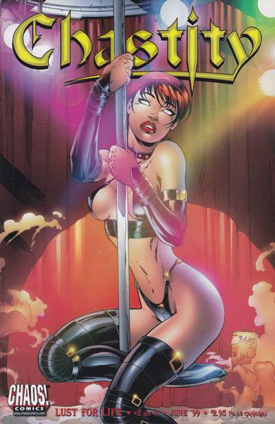 Cover for Chastity: Lust for Life (Chaos! Comics, 1999 series) #2