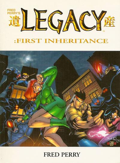 Cover for Fred Perry's Legacy: First Inheritance (Antarctic Press, 2002 series) #[nn]