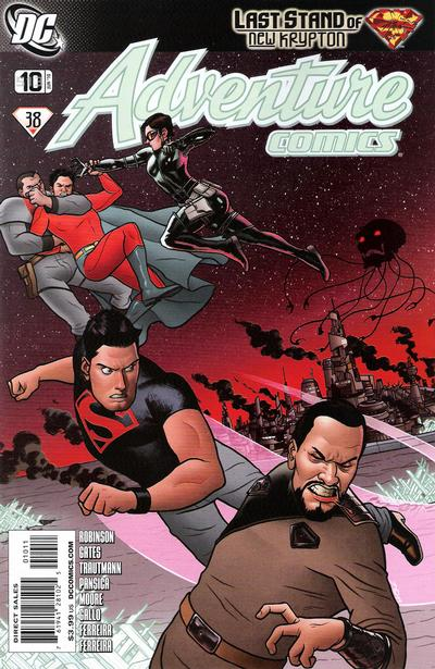 Cover for Adventure Comics (DC, 2009 series) #10 / 513 [Cover B]