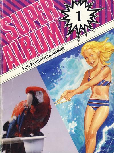 Cover for Penny Superalbum (Serieforlaget / Se-Bladene / Stabenfeldt, 1982 series) #1