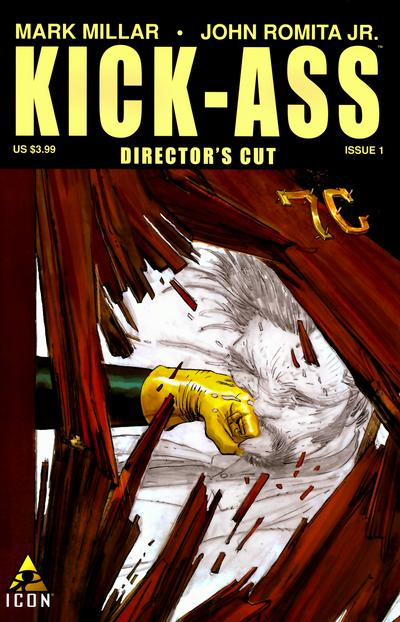 Cover for Kick-Ass (Marvel, 2008 series) #1 (Director's Cut)