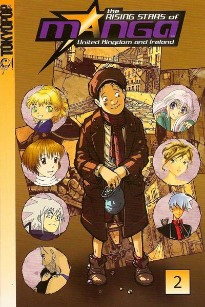 Cover for Rising Stars of Manga United Kingdom and Ireland (Tokyopop, 2006 series) #2