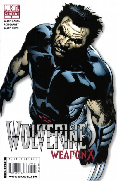 Cover for Wolverine Weapon X (Marvel, 2009 series) #1 [Regular Edition - Ron Garney]