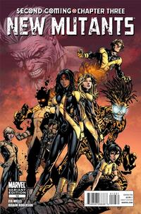 Cover Thumbnail for New Mutants (Marvel, 2009 series) #12 [Finch Cover]