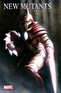 Cover Thumbnail for New Mutants (Marvel, 2009 series) #12 [Iron Man Variant]