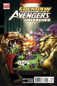 Cover Thumbnail for Lockjaw & the Pet Avengers Unleashed (Marvel, 2010 series) #2 [Variant Edition]