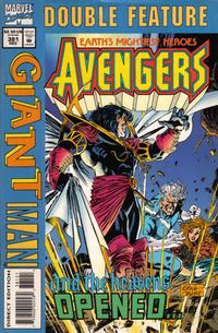 Cover Thumbnail for Marvel Double Feature ... The Avengers / Giant-Man (Marvel, 1994 series) #381 [Direct Edition]