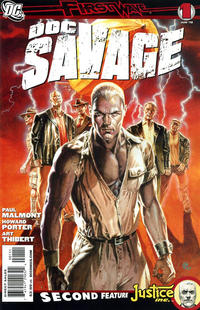Cover Thumbnail for Doc Savage (DC, 2010 series) #1 [Standard Cover]