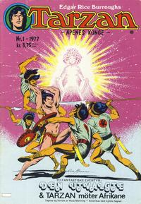 Cover Thumbnail for Tarzan (Atlantic Forlag, 1977 series) #1/1977