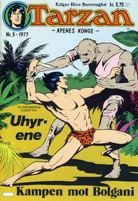 Cover Thumbnail for Tarzan (Atlantic Forlag, 1977 series) #3/1977