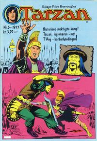 Cover Thumbnail for Tarzan (Atlantic Forlag, 1977 series) #5/1977