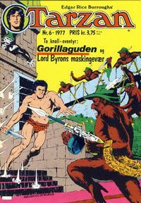 Cover for Tarzan (Atlantic Forlag, 1977 series) #6/1977