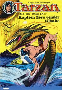 Cover Thumbnail for Tarzan (Atlantic Forlag, 1977 series) #7/1977