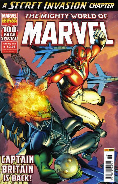 Cover for The Mighty World of Marvel (Panini UK, 2009 series) #8