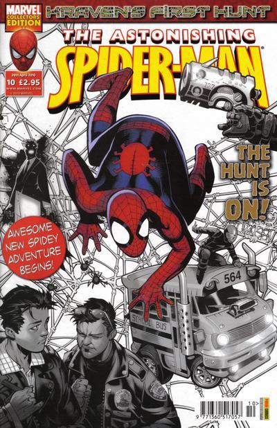 Cover for Astonishing Spider-Man (Panini UK, 2009 series) #10
