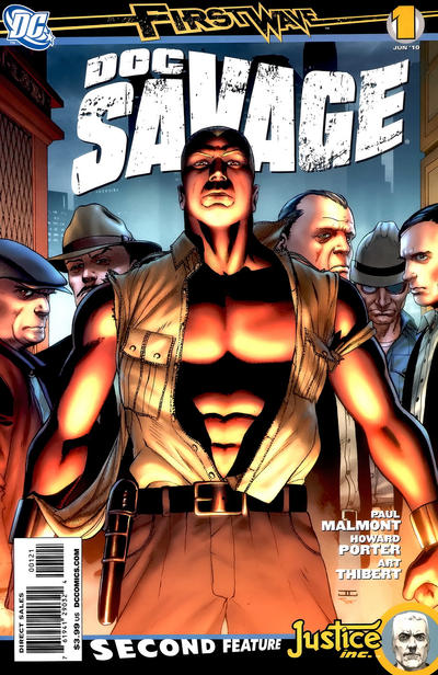 Cover for Doc Savage (DC, 2010 series) #1 [Standard Cover]