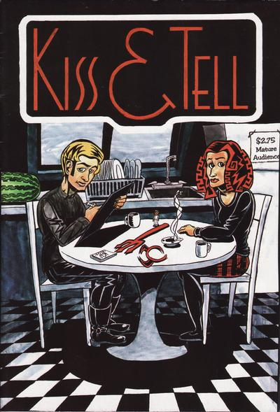 Cover for Kiss & Tell (Patricia Breen & Burbank Graphics, 1995 series) #1