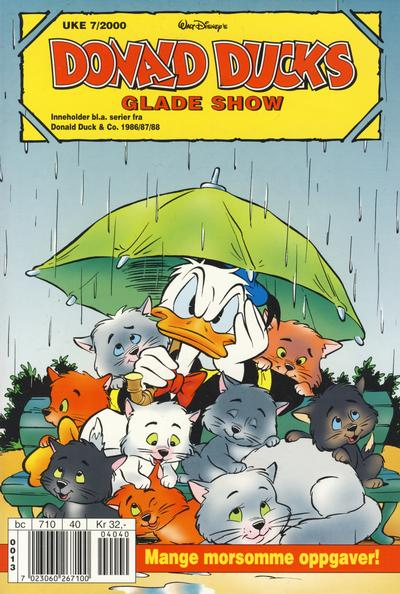 Cover for Donald Ducks Show (Hjemmet / Egmont, 1957 series) #[102] - Glade show 2000