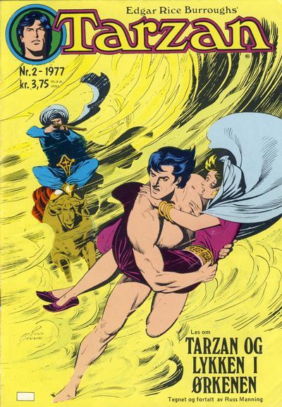 Cover for Tarzan (Atlantic Forlag, 1977 series) #2/1977