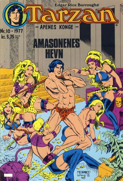 Cover for Tarzan (Atlantic Forlag, 1977 series) #10/1977