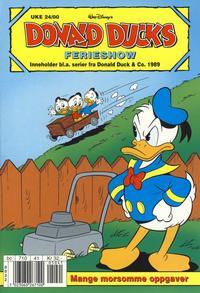 Cover Thumbnail for Donald Ducks Show (Hjemmet / Egmont, 1957 series) #[103] - Ferieshow 2000