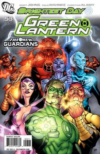 Cover Thumbnail for Green Lantern (DC, 2005 series) #53 [Standard Cover]