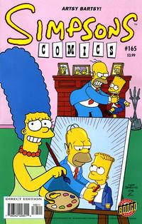 Cover Thumbnail for Simpsons Comics (Bongo, 1993 series) #165