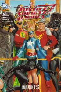 Cover Thumbnail for Justice Society of America (Panini Deutschland, 2007 series) #6 - Black Adam & Isis