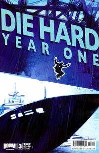 Cover for Die Hard: Year One (Boom! Studios, 2009 series) #3 [Cover A]