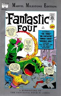Cover Thumbnail for Marvel Milestone Edition: Fantastic Four #1 (Marvel, 1991 series)