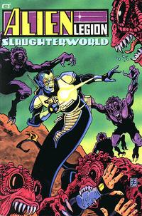 Cover Thumbnail for Alien Legion: Slaughterworld (Marvel, 1991 series)