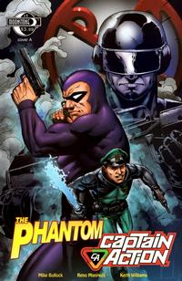 Cover Thumbnail for The Phantom - Captain Action (Moonstone, 2010 series) #1 [Cover A]